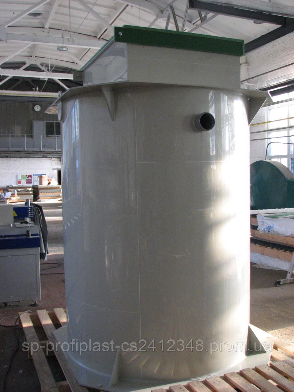 Станция биологической очистки  «БиоСток-6»  - ООО «СП «ПРОФИПЛАСТ» в Сумах