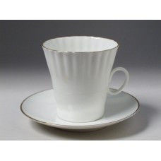 Чашка кофейная с блюдцем И.Ф.З. Одуванчик Золотой кантик 175 мл 13552