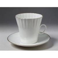 Набор чашка кофейная с блюдцем И.Ф.З. Одуванчик Золотой кантик 13552