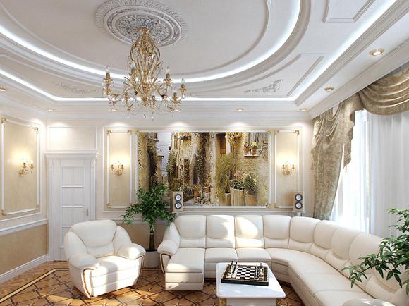 Архитектура с Лепниной в Комнате .  ДИЗАЙН ГОСТИНИЧНОГО БИЗНЕСА. СТРОИТЕЛЬСТВО