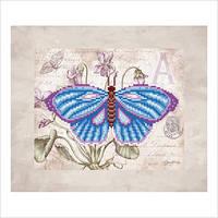 """Схема для вышивки бисером """"Бабочка"""""""