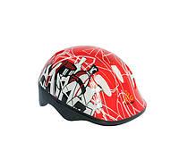 Шлем детский для роликов красный