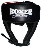 Шлем боксерский Boxer кожа L