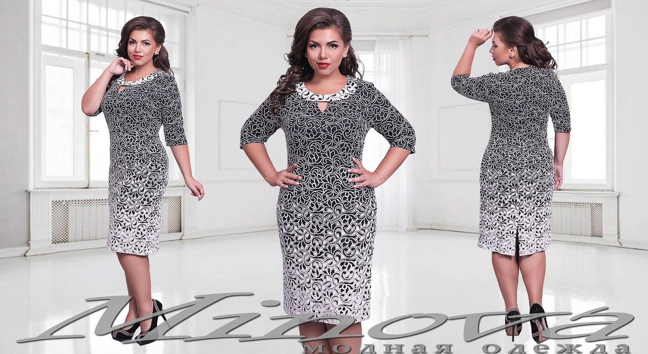 Платья женские размер 50 52 фото
