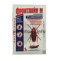 "Порошок ""Фронтлайн М"" от тараканов, блох, клопов и муравьев 1гр"