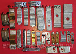Контакты силовые к контактору КТ (КТП) 6025 (подвижные,серебряные), фото 3