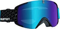 Горнолыжная маска Salomon XVIEW Bk-Blue/Univ. Mid Blue (MD 17)