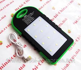 Солнечная батарея  UKC Power bank solar 10800 mAh с мощным фонарем new, фото 3