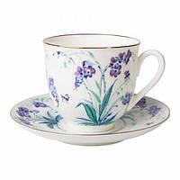 Набор чашка кофейная с блюдцем И.Ф.З. Ландыш Незабудки 10781
