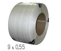 Лента полипропиленовая 9 × 0,55 мм (4 км)