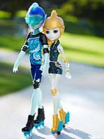 Сет кукол Гил Веббер и Лагуна Блю - На Роликах Monster High Lagoona Blue and Gil Webber Wheel Love