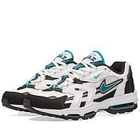 Оригинальные  кроссовки Nike Air Max 96 II XX White & Mystic Teal