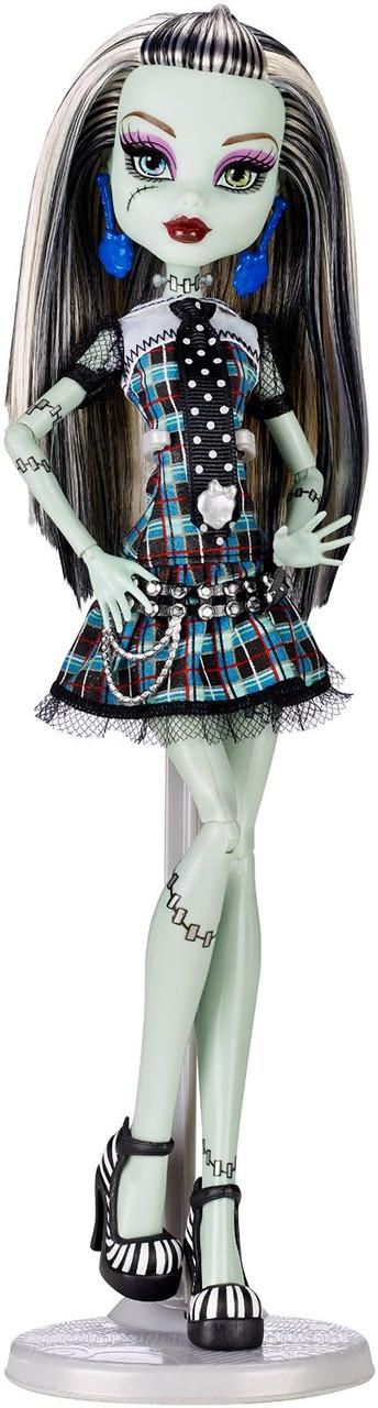 Кукла Фрэнки Штейн базовая без питомца перевыпуск 2014 г (Monster High Original Favorites Frankie Stein Doll)