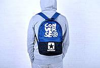 Городской рюкзак конверс (Converse), синий