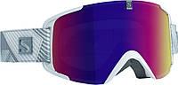 Горнолыжная маска Salomon XVIEW White/Solar Infrared (MD 17)