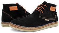 Мужские ботинки Konors на байке осенние замшевые
