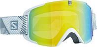 Горнолыжная маска Salomon XVIEW Whi/Lo Light Light Yellow (MD 17)