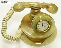 ЧасыТелефон из оникса 7*10см