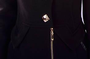 Женское зимнее кашемировое пальто арт. Глазго песец Турция элит 4571, фото 3
