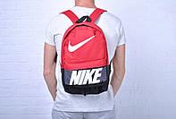 Рюкзак на каждый день найк (Nike) черный с красным реплика