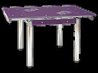 Стол раскладной GD-082 фиолетовый (Signal TM)
