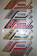 Наклейки на мото Ява (цена за 1лист)