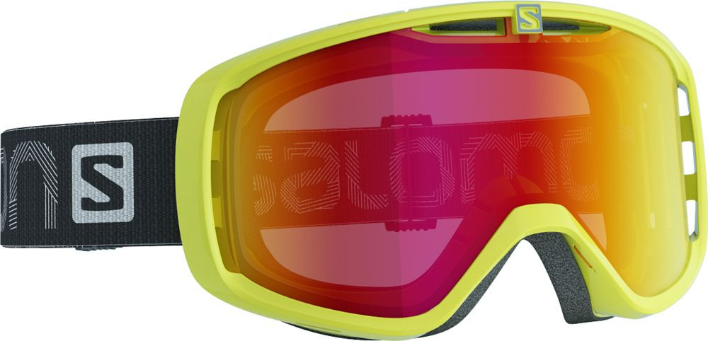 Горнолыжная маска Salomon AKSIUM Gecko/Lo Light Lightred (MD)