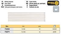 стержни клеевого пистолета Польша Ø=11 мм l=100 мм 12 штук  VOREL-73271