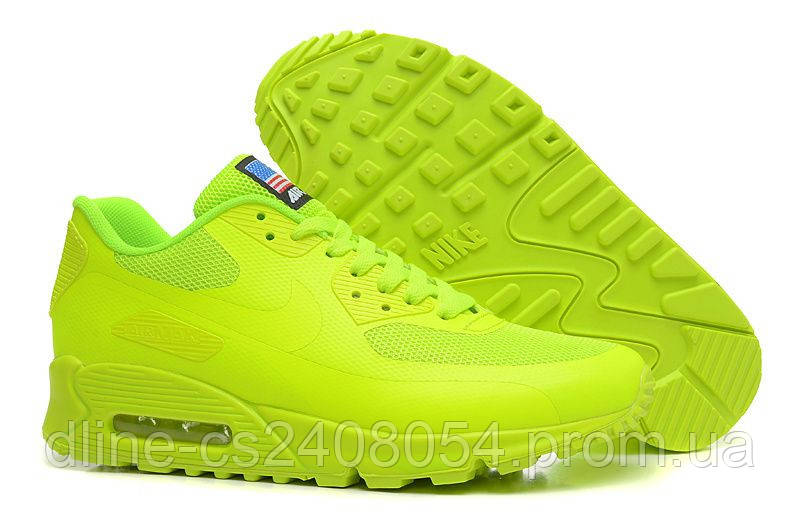 Nike Air Max 90 Hyperfuse салатовые