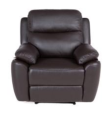 Шкіряний диван з кріслом - ALABAMA BIS. Реклайнер (3+1), фото 3