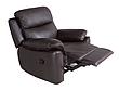 Шкіряний диван з кріслом - ALABAMA BIS. Реклайнер (3+1), фото 2