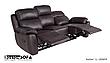 Шкіряний диван з кріслом - ALABAMA BIS. Реклайнер (3+1), фото 4
