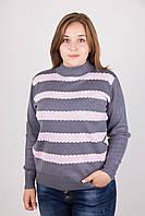 Полосатая женская кофта, фото 1