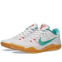 Оригинальные  кроссовки Nike Kobe XI White & Washed Teal