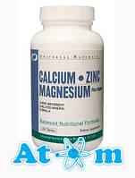 Витамины и Минералы - Calcium Zinc Magnesium - Universal Nutrition - 100 табл