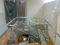 Лестница из нержавеющей стали Харьков