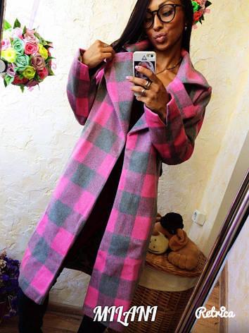 Пальто с поясом , фото 2