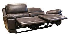 М'який диван-реклайнер в комплекті з кріслом-реклайнером MONTANA (3+1), фото 2