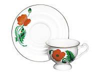 Набор чашка чайная с блюдцем И.Ф.З. Айседора Огонек 19359