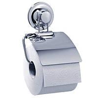 Держатель туалетной бумаги на вакуумных присосках, фото 1