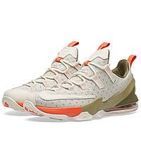 Оригинальные  кроссовки Nike Lebron XIII Low Limited Phantom, Olive & Turf Orange