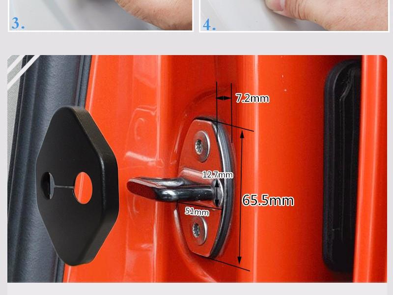 Крышки на петлю замка подходит для HONDA / Toyota, фото 1