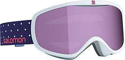 Горнолыжная маска Salomon SENSE White Polka/Univ Ruby (MD)