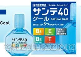 Sante 40 Cool возрастные охлаждающие капли для снятия усталости и устраняющие размытость зрения, фото 2