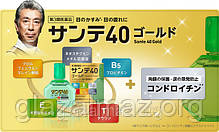 Sante 40 Gold капли для глаз с таурином, пантенолом, витамином E и хондроитином, фото 2