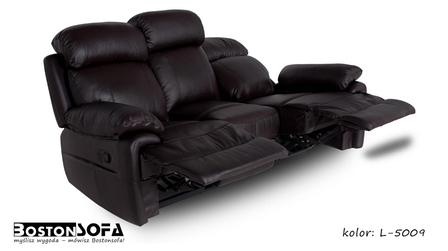 Кожаный диван реклайнер Orlando, диван реклайнер, мягкий диван, мебель из кожи, мягкая мебель, фото 2