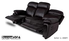 Комплект кожаной мебели с реклайнером ORLANDO (3+1+1), фото 3