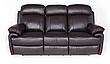 Комплект кожаной мебели с реклайнером ORLANDO (3+1+1), фото 5