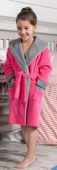 Теплый плюшевый халат.Польша