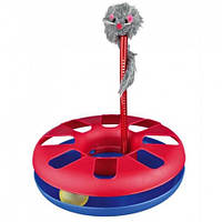 """Игрушка для кошки Trixie """"Crazy Circle"""" с мышкой 24*29 см"""